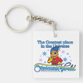 Tommy Rocket - Greatest Place in the Universe Single-Sided Square Acrylic Keychain