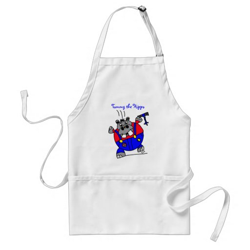 Tommy the Hippo Apron