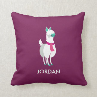 Tommy the Llama Cushion