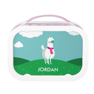 Tommy the Llama Lunch Box