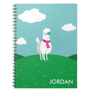 Tommy the Llama Notebook