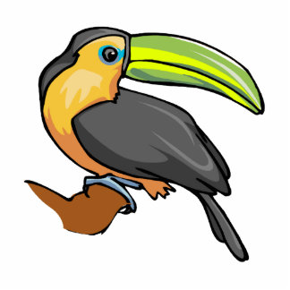 Tommy Toucan Standing Photo Sculpture