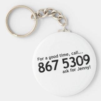 Tommy Tutone 867 5309 Keychains