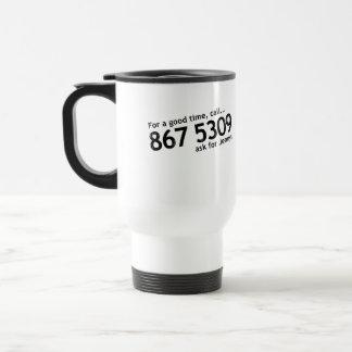 Tommy Tutone 867 5309 Coffee Mugs