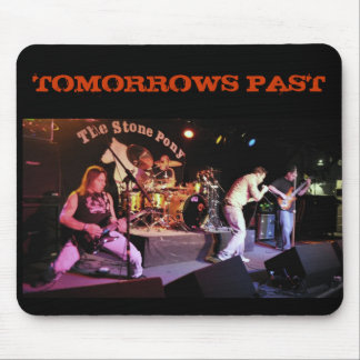 TOMORROWS PAST mousepad