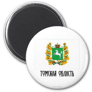 Tomsk Oblast Flag Magnet