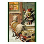 Tomte Nisse, aka Santa Clause Greeting Cards