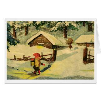Tomten Christmas card