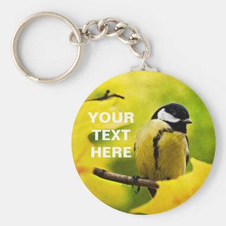 Tomtit - Dressed To The Season Basic Round Button Key Ring