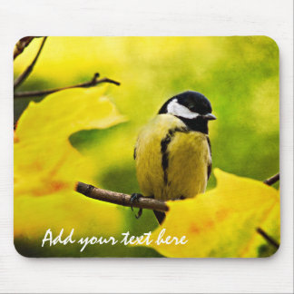 Tomtit - Dressed To The Season Mouse Pad