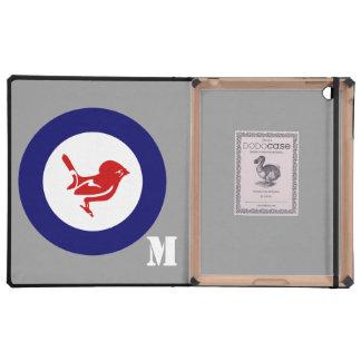 Tomtit roundel | New Zealand Bird iPad Cover