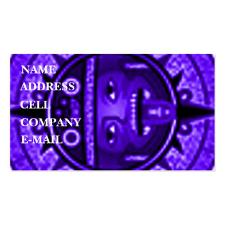 'Tonatuih' Double-Sided Standard Business Cards (Pack Of 100)