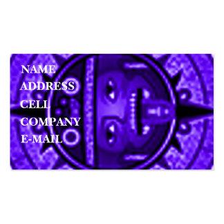 'Tonatuih' Pack Of Standard Business Cards