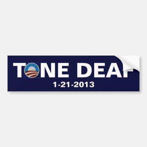 Tone Deaf President Bumper Sticker