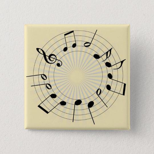 Tones 15 Cm Square Badge