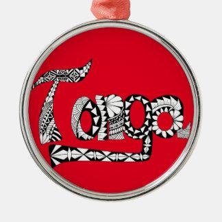 Tonga Christmas Ornament