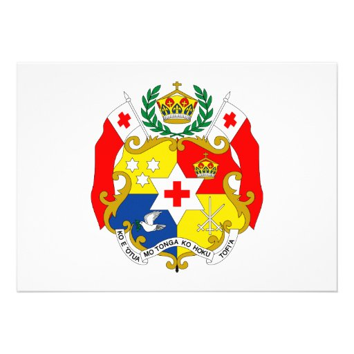 Tonga Coat of Arms Announcement