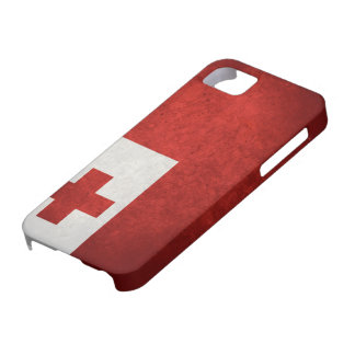 Tonga Flag Case For The iPhone 5