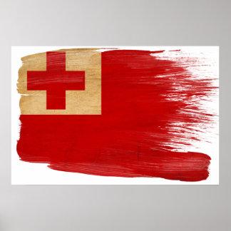 Tonga Flag Posters