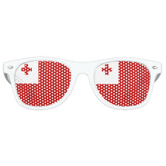 Tonga Flag Retro Sunglasses