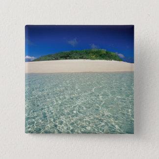 Tonga, Vava'u, Landscape 2 15 Cm Square Badge