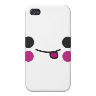 Tongue Face iPhone 4/4S Cases