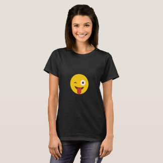 Tongue Poke Smiley T-Shirt