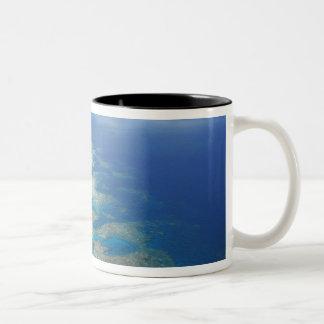 Tongue Reef, Great Barrier Reef Marine Park, Two-Tone Coffee Mug