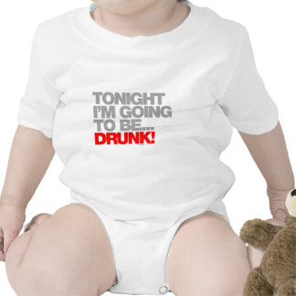 Tonight Im Going To Be Drunk Rompers