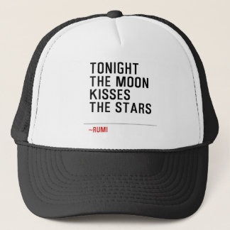 TONIGHT-THE-MOON-KISSES-THE-STARS TRUCKER HAT