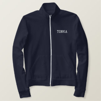 TONKA Athletic zip-up Embroidered Jacket