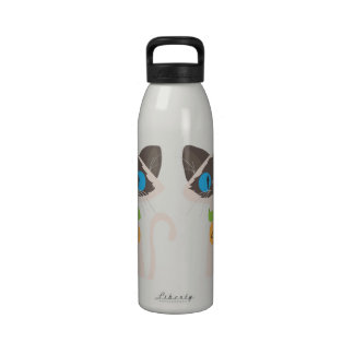 Tonkinese Cat Liberty Name Water Bottle