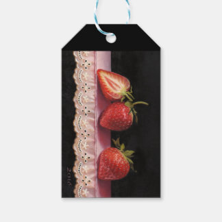Tonkinson - Strawberry tags, maggot with love Gift Tags