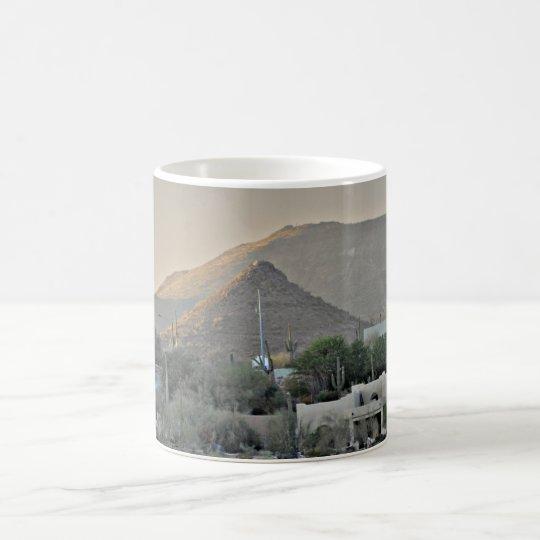 Tonto Mountains China Man's Hat Coffee Mug