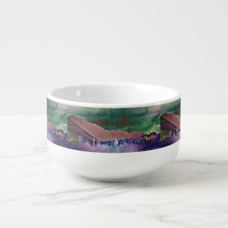Tonto Mountains in Abstract Soup Mug