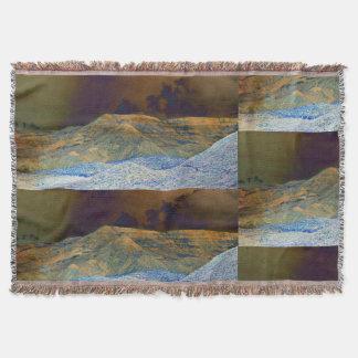 Tonto Mountains in Photo Art Accent Throw Blanket