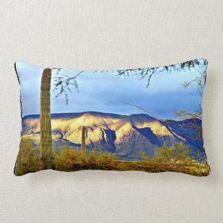 Tonto Mountains Sunset Throw Pillow