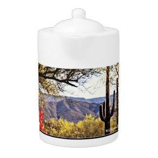 Tonto Mountains Tea Pot