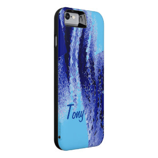 Tony Blue Design iPhone Battery Case