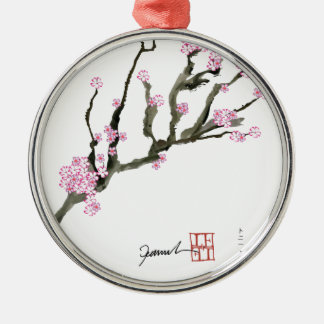Tony Fernandes cherry blossom 8 Christmas Ornament