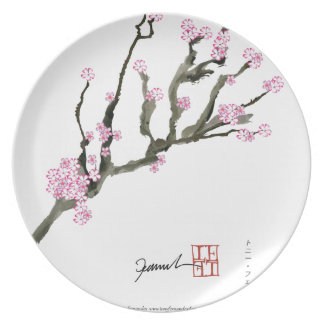 Tony Fernandes cherry blossom 8 Plate