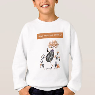 tony fernandes, ginger chicks have all the fun sweatshirt