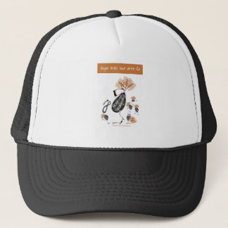 tony fernandes, ginger chicks have all the fun trucker hat
