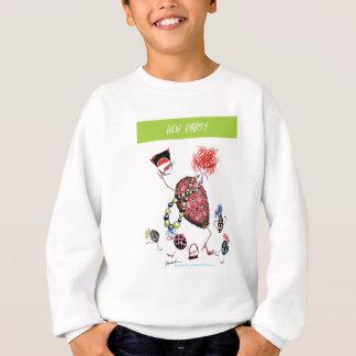 tony fernandes, hen party sweatshirt