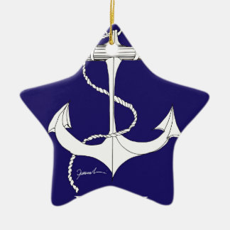 tony fernandes, henley blue christmas ornament