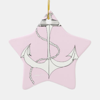 tony fernandes, henley pink christmas ornament