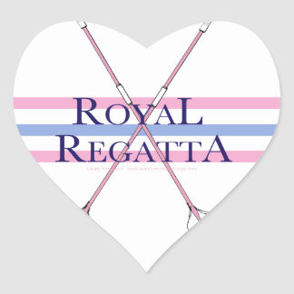tony fernandes, regatta 4 heart sticker