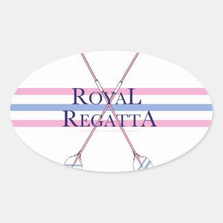 tony fernandes, regatta 4 oval sticker