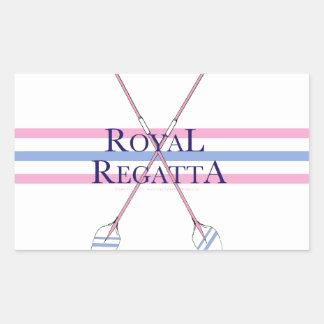 tony fernandes, regatta 4 rectangular sticker