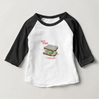 Tony Fernandes's Man Food - a healthy option Baby T-Shirt